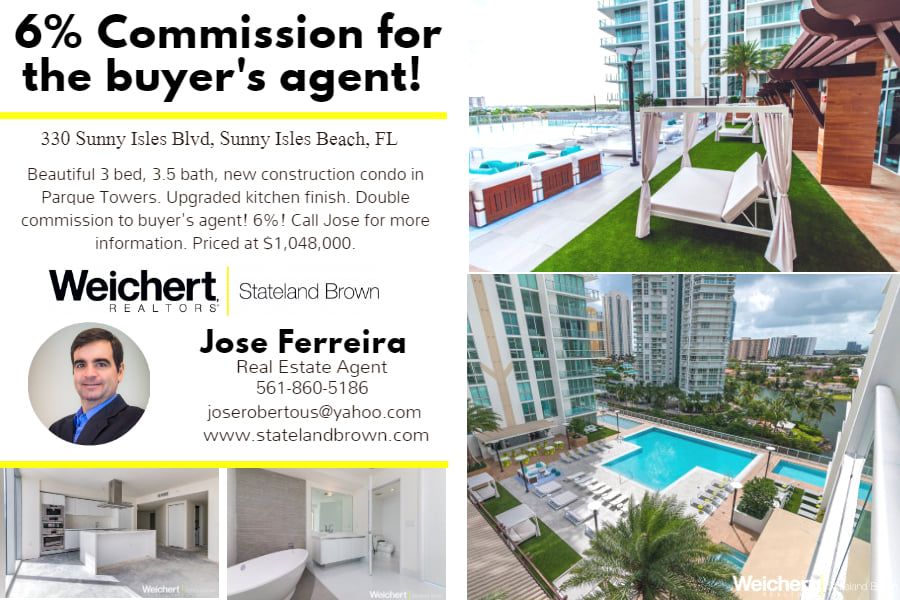 For Sale in Sunny Isles Beach, FL